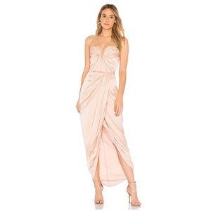 NWT Yumi Kim REVOLVE Silk Bombshell Blush Dress